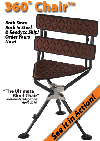 Huntmore Hunting Stool Come In And Try Out The New HuntMore Seat For Your  Blind.